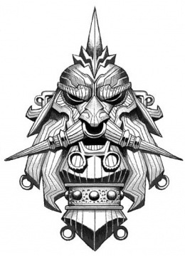 Grimnir mask