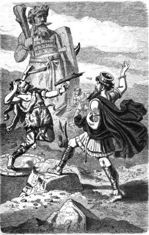 tho duels hrungnir