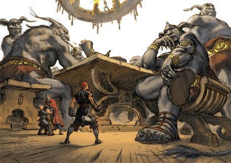 Utgard-Loki's challengea